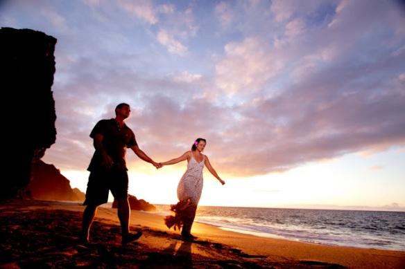 kalalau trail, kalalau engagement, kauai, engagement, engagement photos, engagement shoot, hawaii engagement