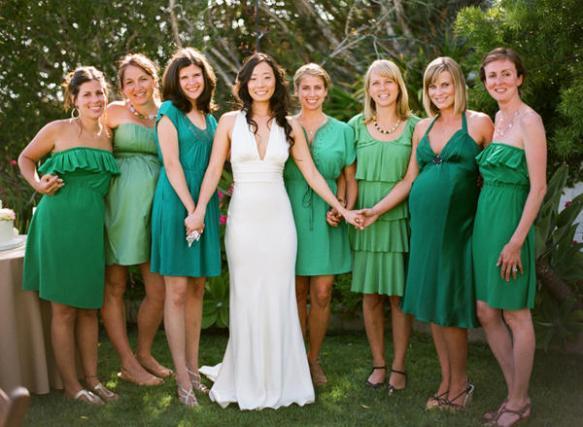 bridesmaids dresses, groomsmen