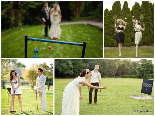 wedding lawn games, outdoor wedding