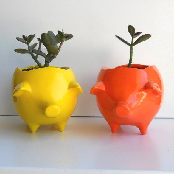 etsy, etsy.com, ceramic pig, diy