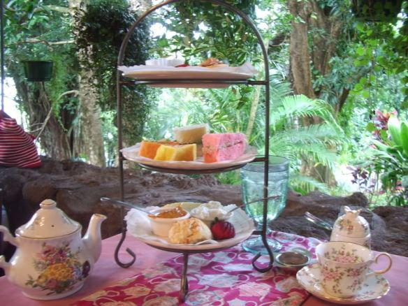 waioli tea room, bridal shower