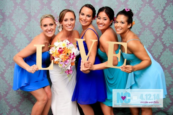 lovestruck, customized, hawaii photo lounge