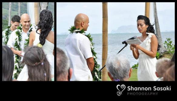 waikane wedding, hawaii wedding, oahu wedding, mary and tony, best day ever hawaii, outdoor wedding