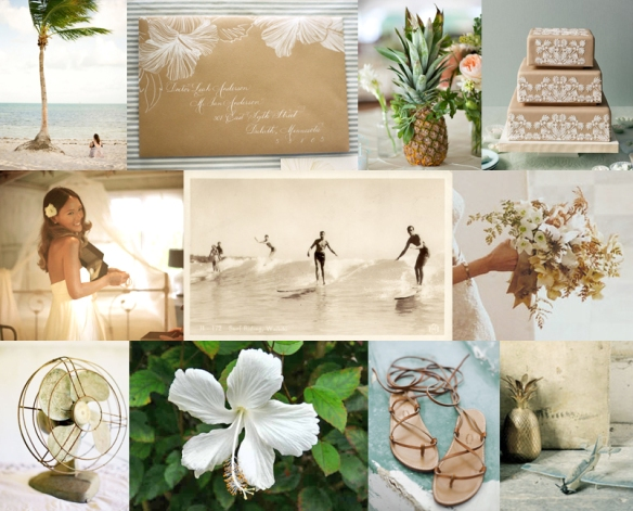 hawaii wedding inspiration, beach wedding, beach bliss