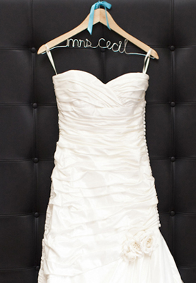 Free personalized wedding hanger best day ever for Hangers for wedding dresses