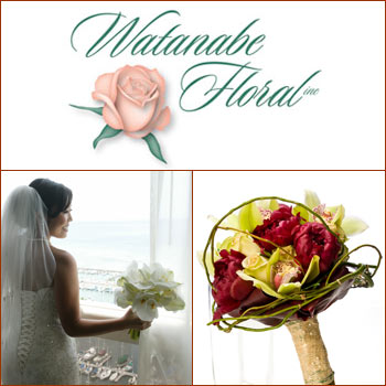 hawaii wedding deals, wedding deals, hawaii wedding, watanabe florals, hawaii wedding flowers