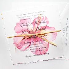 wedding invitations, hand painted, hand painted wedding invitations