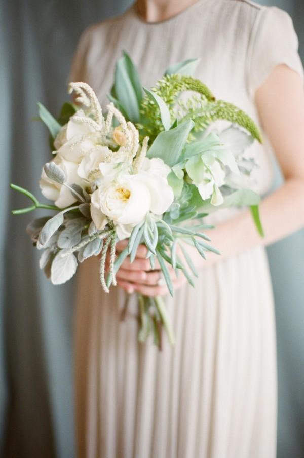 garden rose succulent bouquets wedding bouquets