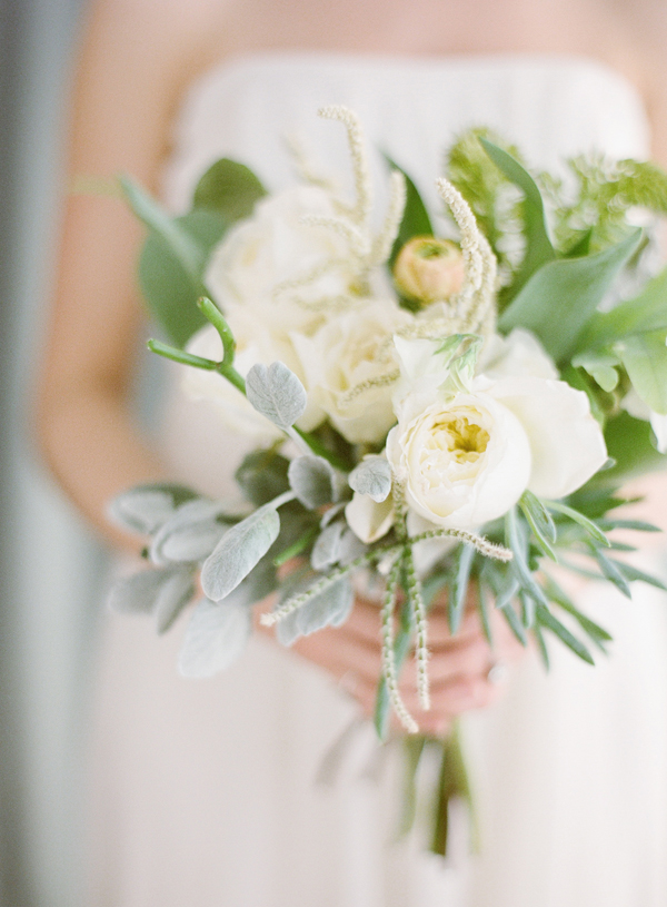Bridal Bouquet Plant Images : Garden rose and succulent bouquets best day ever