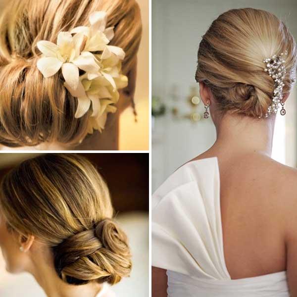 Wedding Bun Hairstyles: Top 10 Wedding Hairstyles With
