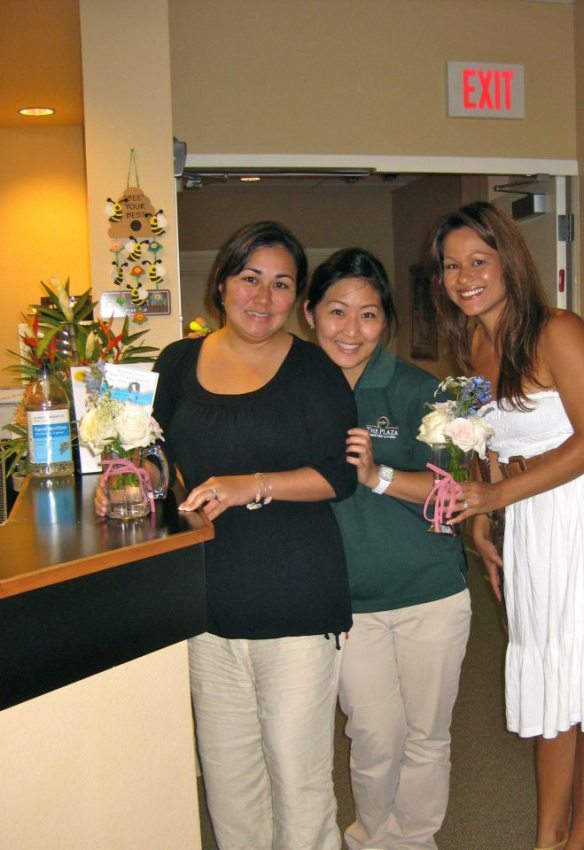 share the aloha, best day ever hawaii, flower donations, wedding flower donations