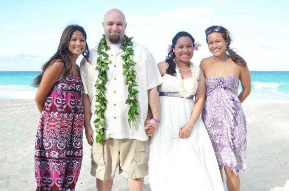 waimanalo bay beach park, waimanalo bay beach wedding, beach wedding, oahu wedding, hawaii wedding, jason and bianca, best day ever hawaii