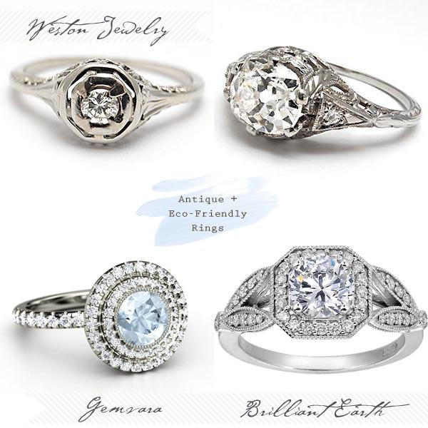 unique vintage engagement rings best day