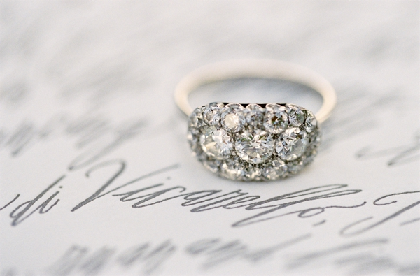 engagement ring wedding ring - Vintage Inspired Wedding Rings