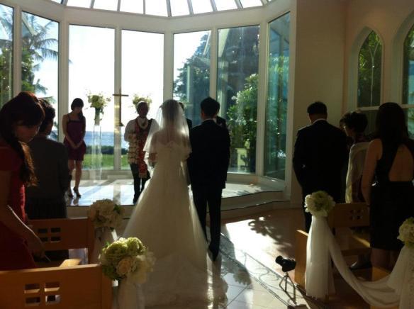 hawaii wedding, oahu wedding, paradise cove chapel, paradise cove luau, jeff and yui, best day ever hawaii