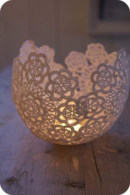 diy, diy mondays, romantic lace candle voltives, romantic lace, lace candle, candle voltives