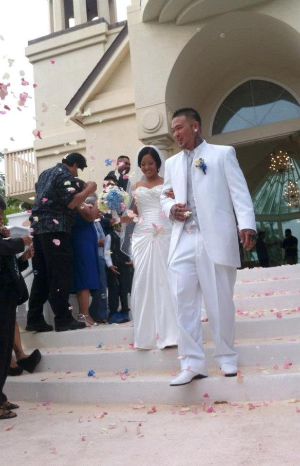 paradise cove crystal chapel, ihilani koolina, ihilani koolina wedding, dane and charis, hawaii wedding, oahu wedding, best day ever hawaii
