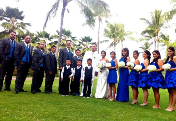 paradise cove crystal chapel, ihilani koolina, ihilani koolina wedding, dane and charis, hawaii wedding, oahu wedding, best day ever hawaii