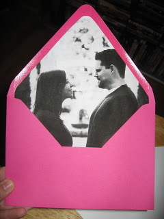 diy mondays, diy, wedding personalization, envelope liners