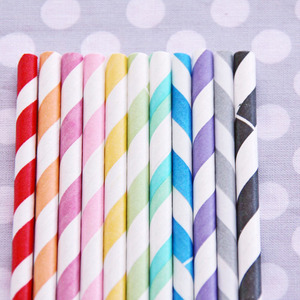 wedding decor, sweet lulu, wedding straws