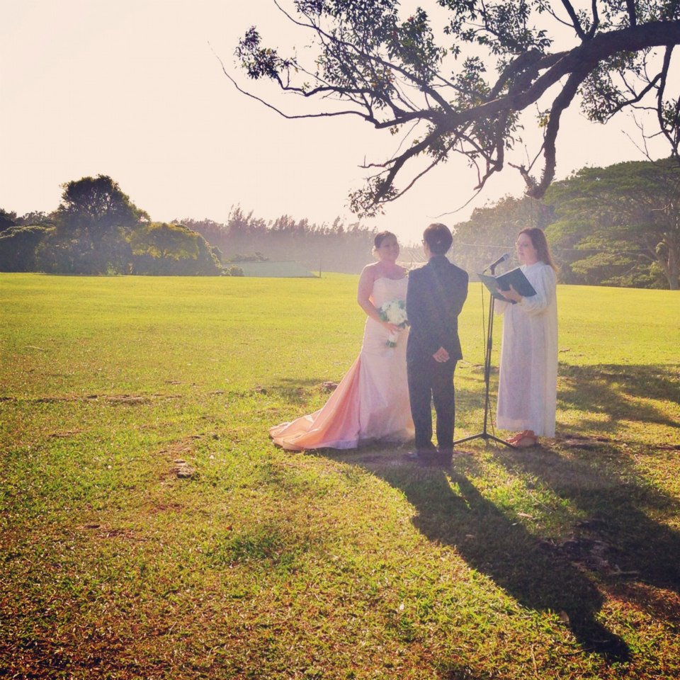 Real Hawaii Wedding