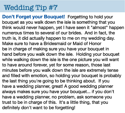 wedding-tip-dont-forget-your-bouquet