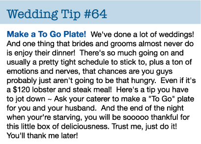 wedding-tip-to-go-plate