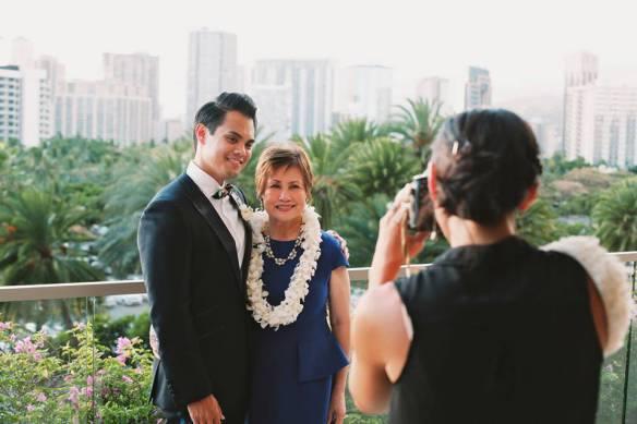 hawaii wedding, oahu wedding, barron and kate, trump hotel, trump hotel wedding