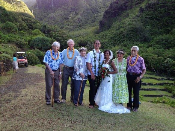 hawaii wedding, oahu wedding, private estate wedding, kauai wedding, haena wedding, pono and alana
