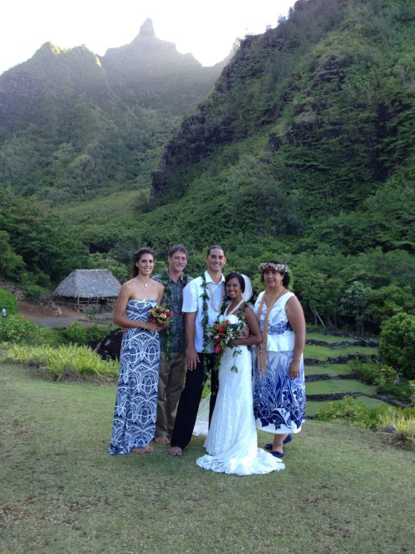 hawaii wedding, oahu wedding, private estate wedding, kauai wedding, haena wedding, pono and alana