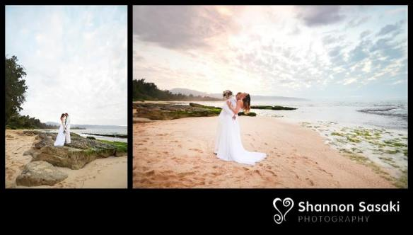 papailoa beach, papailoa beach wedding, beach wedding, hawaii wedding, oahu wedding, north shore, north shore wedding, barbora and josef, best day ever hawaii