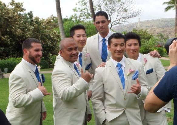 Ky and Lorrie, hawaii  wedding, Ihilani Koolina Wedding, oahu wedding