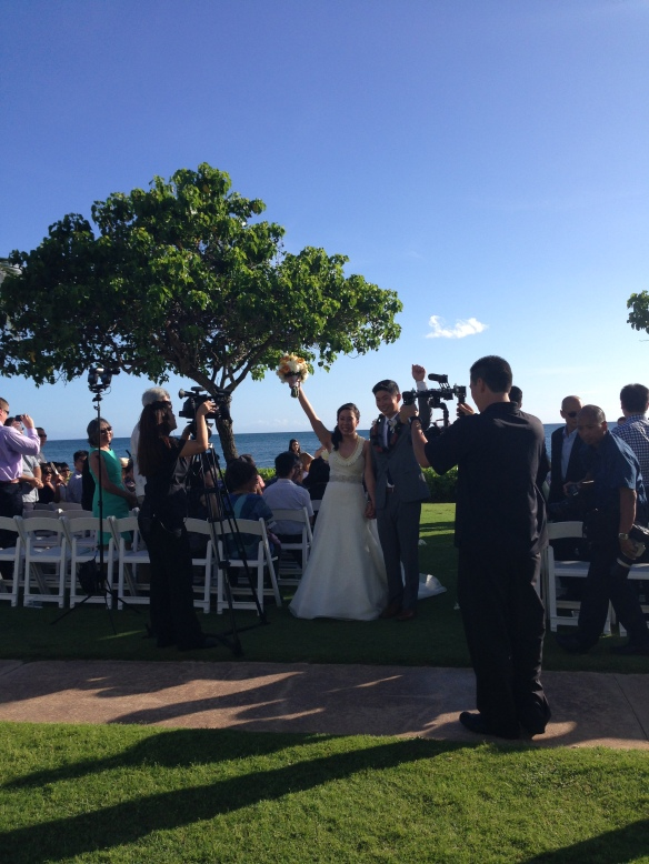 hawaii wedding, oahu wedding, koolina ihilani, koolina ihilani wedding, mike and lisa, best day ever hawaii