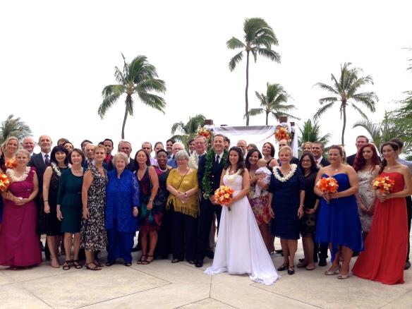 Halekulani Hau Terrace Hawaii Wedding