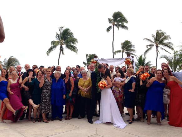 Halekulani Hawaii Wedding