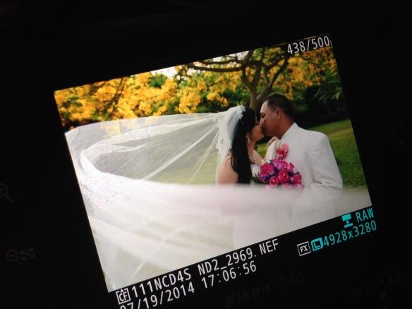 Chester & Mavel Hawaii Prince Wedding