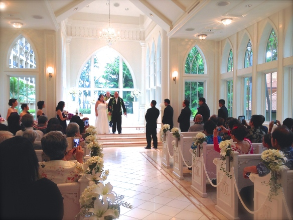 Crystal Chapel Wedding Hawaii