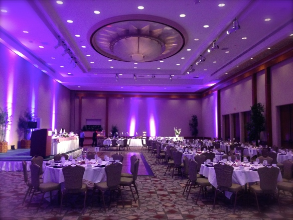 Hilton Ballroom Hawaii Wedding
