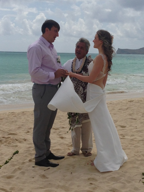 Waimanalo Bay Wedding