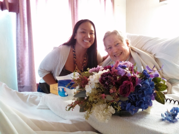 share the aloha, share the aloha program, floral donations, adam and jessica, ihilani koolina, island nursing home
