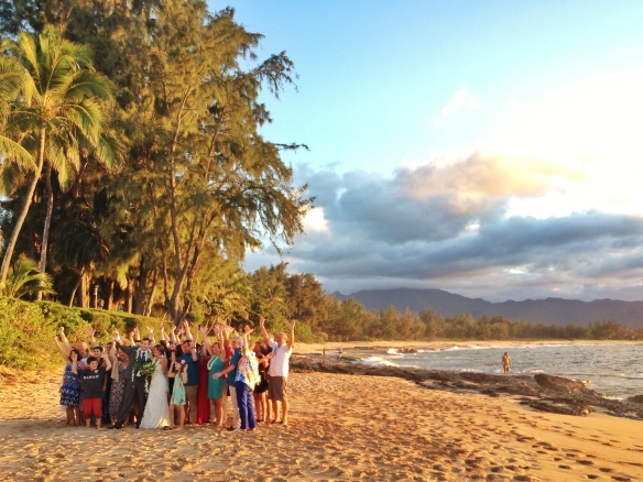 best day ever hawaii beach wedding